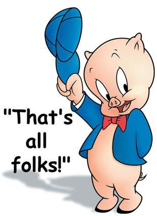 article Ode to Great Britain porky pig that's all folks
