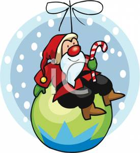 Cartoon_Sana_Holding_a_Candy_Cane_Sitting_on_Top_Christmas_Ornament_Royalty_Free_Clipart_Picture_101123-011215-705053