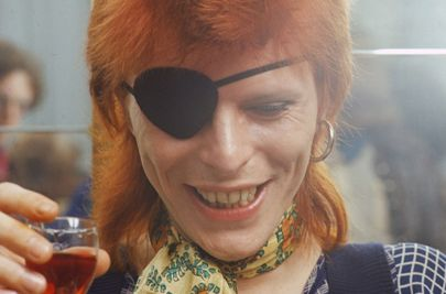 david bowie orange hair