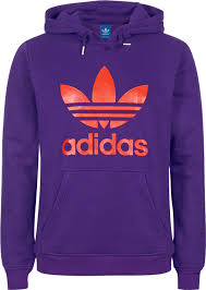 orange purpel addidas