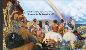 genesis-9-17-noah-and-sons-come-out-he-ark-after-deluge