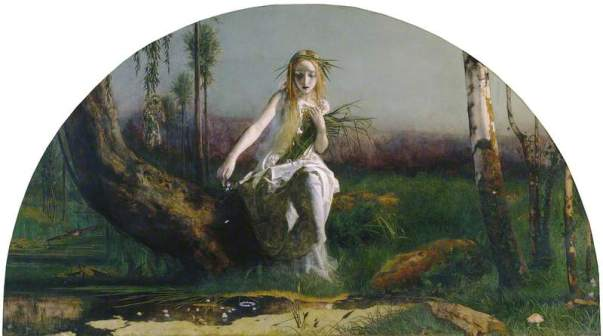 Hughes, Arthur; Ophelia; Manchester Art Gallery; http://www.artuk.org/artworks/ophelia-205241