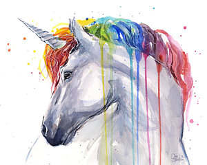 unicorn-rainbow-watercolor-olga-shvartsur