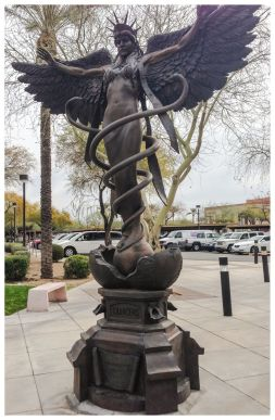 caduceus_statue